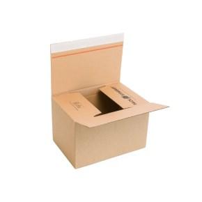 Rychlouzavírací krabice 3VVL 285x190x180 mm, lepicí páska, kraft