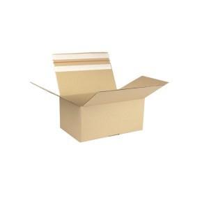 Rychlouzavírací krabice 3VVL 294x194x138 mm, samolepicí klopa