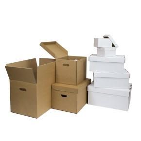 Sada stěhovacích a úložných krabic