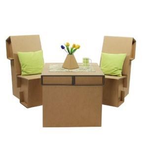 Set kartonového nábytku