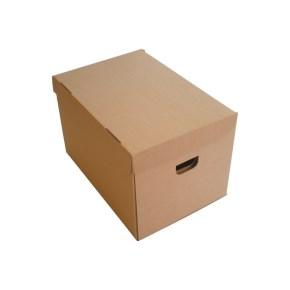 Speciální stěhovací krabice 386x325x296 mm, s víkem