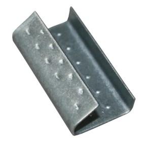 Spona vázací pro polypropylénovou pásku PP šíře 13mm, plechová