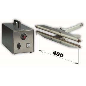 Svářečka HPL ISZ 450 + zdroj -šíře čelisti 450mm