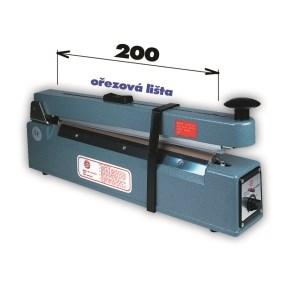 Svářečka KF 200 HC s ořezem -šíře čelisti 200mm