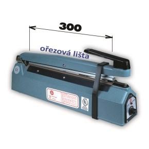 Svářečka KF 300 HC s ořezem -šíře čelisti 300mm