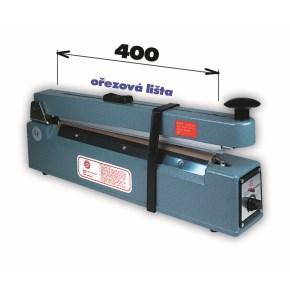 Svářečka KF 400 HC s ořezem -šíře čelisti 400mm