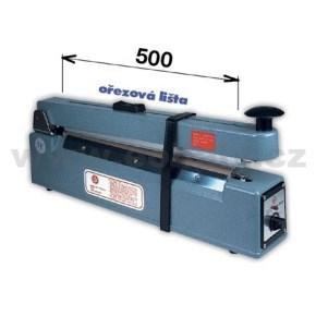 Svářečka KF 500 HC s ořezem -šíře čelisti 500mm
