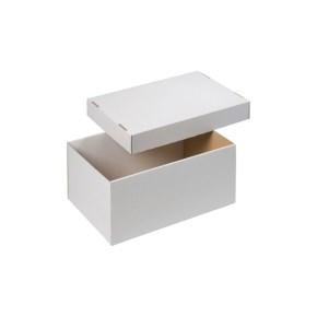úložná krabice dno+víko 300x215x150 mm, BÍLÁ