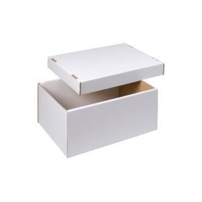 úložná krabice dno+víko 430x300x200 mm, BÍLÁ
