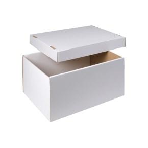 úložná krabice dno+víko 510x350x260 mm, BÍLÁ