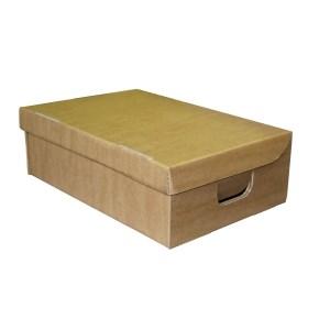 Úložná krabice s víkem 400 x 300 x 180 mm