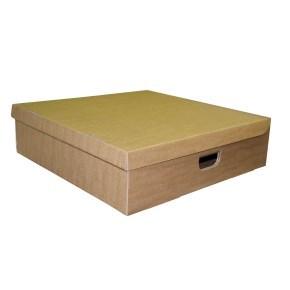 Úložná krabice s víkem 450x450x180 mm
