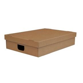 Úložná krabice s víkem 530 x 380 x 120 mm