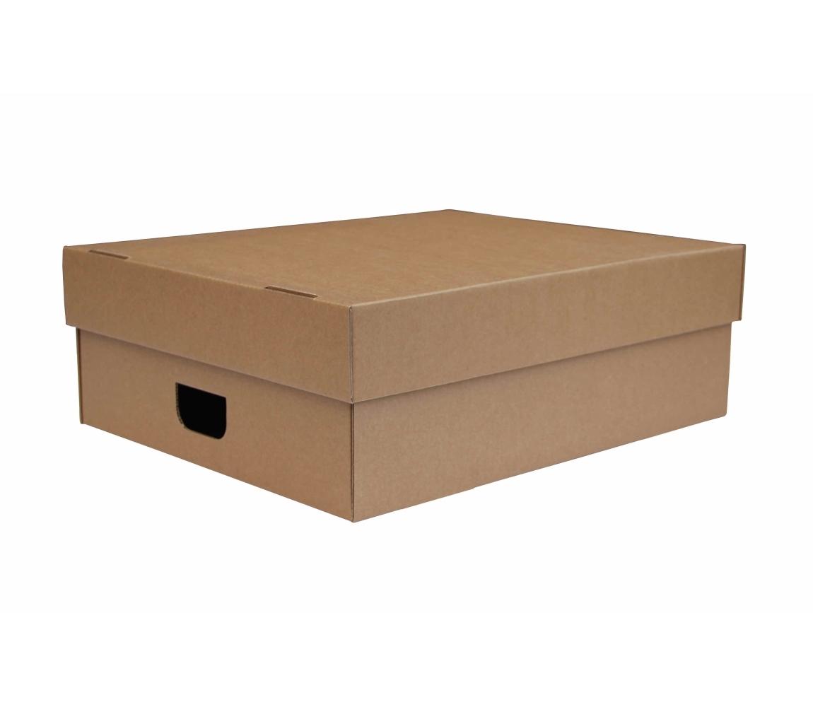 41b8fee3c G.N.P. Úložná krabice s víkem 550x440x190 mm