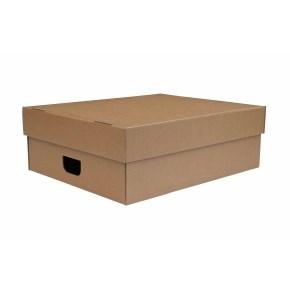 Úložná krabice s víkem 750x600x180 mm