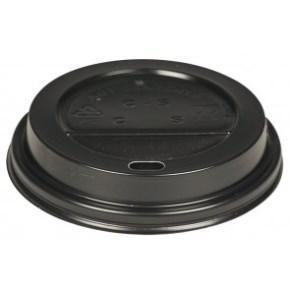 Víčko na kelímek COFFEE TO GO průměr 80 mm, černé