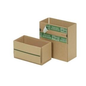Zásilková krabice REVERSE 230x165x115 mm, samolepící klopy